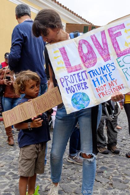Rudy Giron: Antigua Guatemala &emdash; Women's March in Antigua Guatemala 3