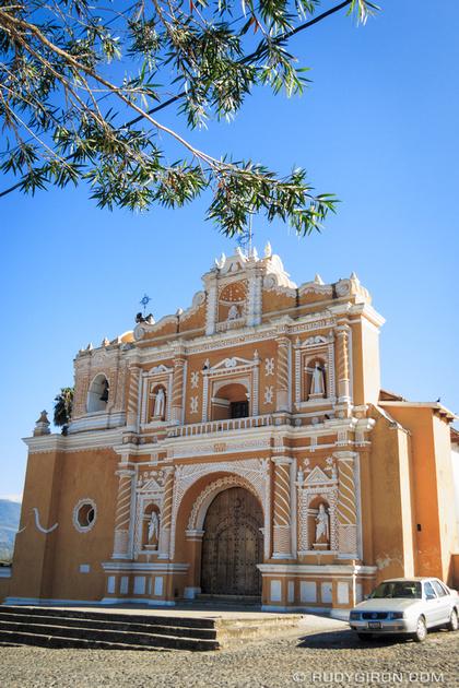 Rudy Giron: Antigua Guatemala &emdash; Temple of San Pedro Las Huertas, Antigua Guatemala