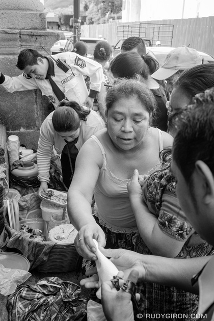 Rudy Giron: Antigua Guatemala &emdash; Street Photography — It's lunch time on the streets of Antigua Guatemala