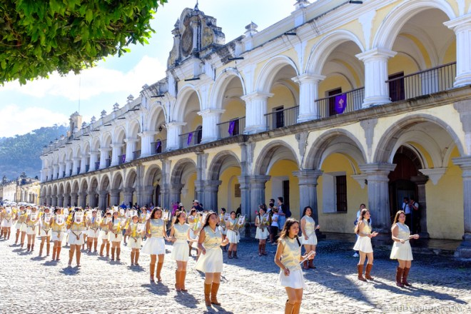 Rudy Giron: Antigua Guatemala &emdash; 474 Anniversary of Funding of Antigua Guatemala Parade