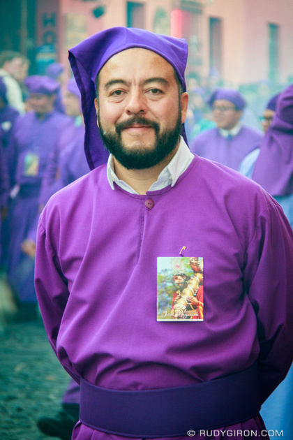 Rudy Giron: Antigua Guatemala &emdash; Street Portraits — Cucurucho Wicho Berdúo Rivas