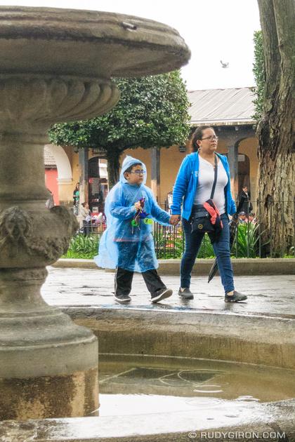 Rudy Giron: Antigua Guatemala &emdash; Rainy season vista from Antigua Guatemala