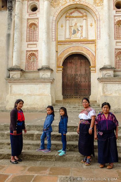 Rudy Giron: Antigua Guatemala &emdash; Tourists visiting the Aldeas of La Antigua Guatemala