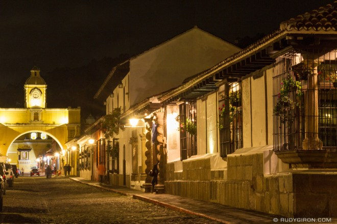 Rudy Giron: Antigua Guatemala &emdash; Night Photography Walks in Antigua Guatemala