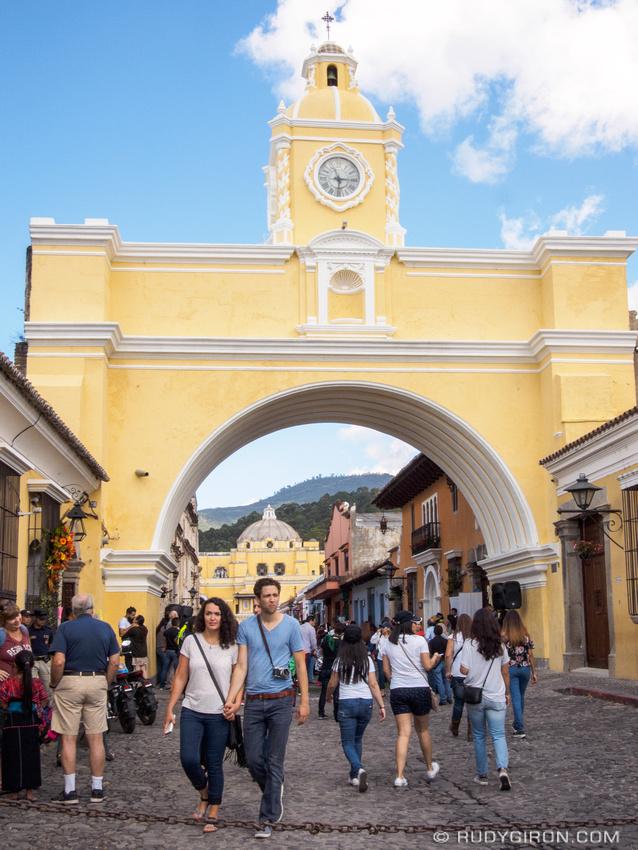 Rudy Giron: Antigua Guatemala &emdash; Newly Renovated Arch
