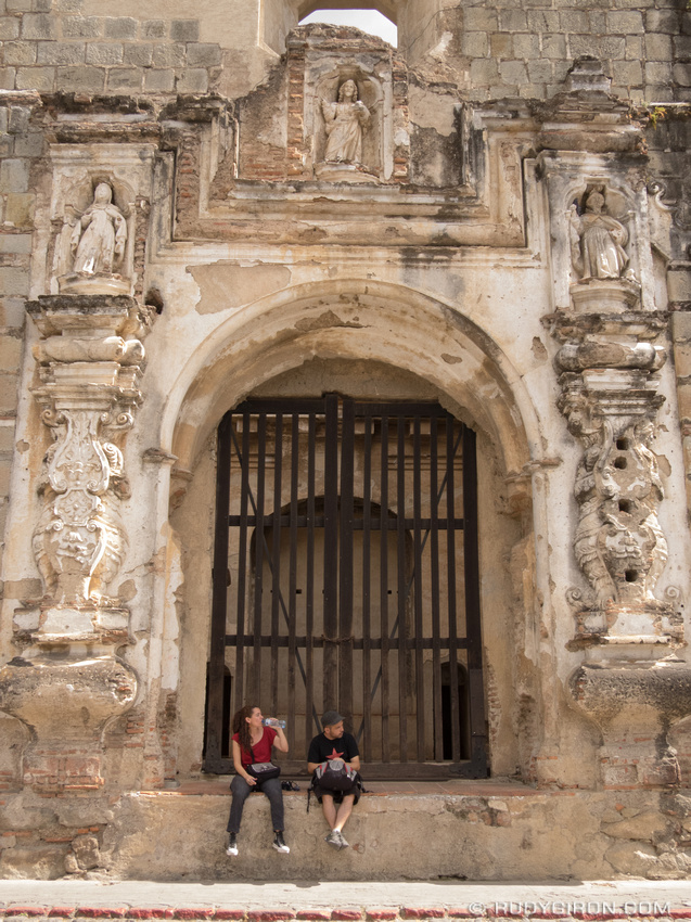 Rudy Giron: Antigua Guatemala &emdash; Ruins of Santa Clara in Antigua Guatemala