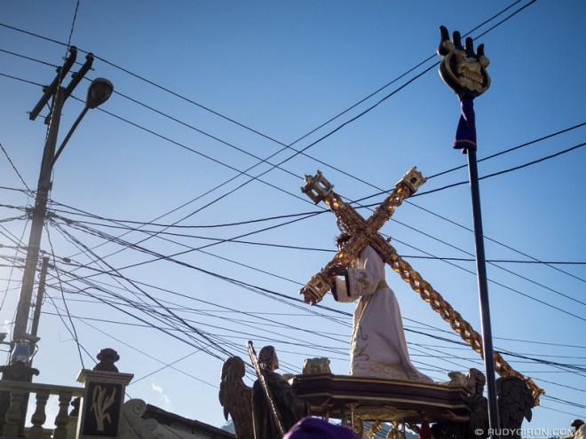 Rudy Giron: Antigua Guatemala &emdash; Lenten Vistas — Floats and Wires
