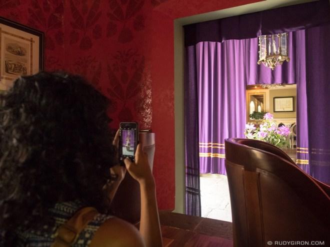 Rudy Giron: Antigua Guatemala &emdash; Lenten Vistas — Purple Banners