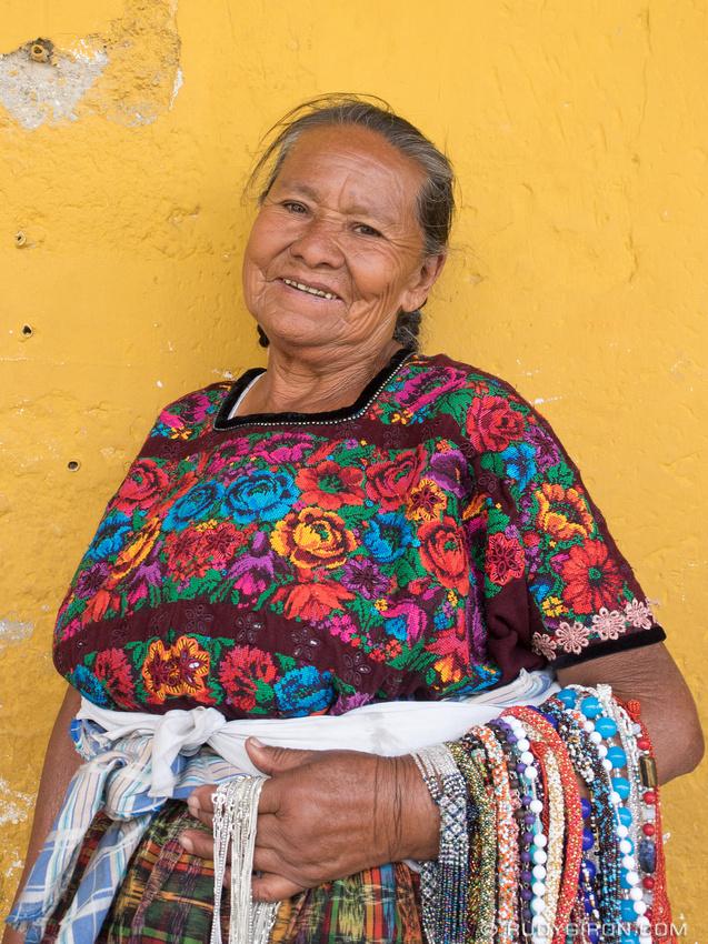 Rudy Giron: Antigua Guatemala &emdash; Antigua Makes Me Happy - Portraits of Mayan Grandmother