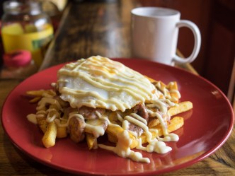 Foodie alert: Hangover Monster available in Antigua Guatemala by Rudy Giron