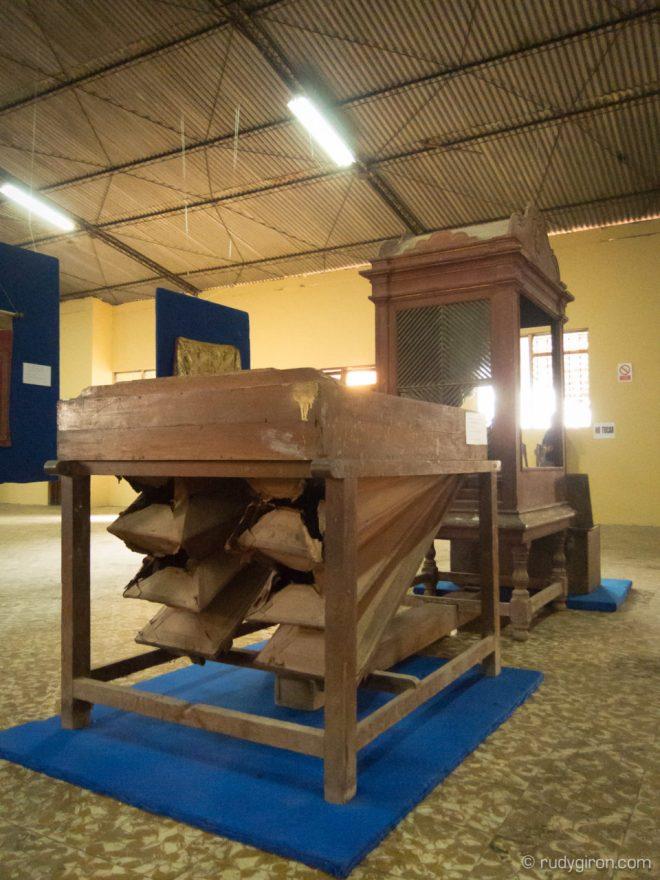 Colonial organ from San Pedro Las Huertas