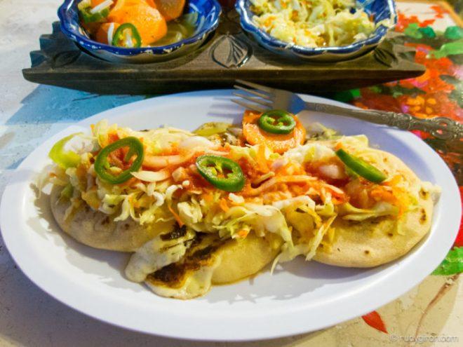 Foodie Alert: Salvadoran Pupusas in Antigua Guatemala by Rudy Giron