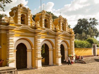 Iglesia El Calvario in Antigua Guatemala by Rudy Giron
