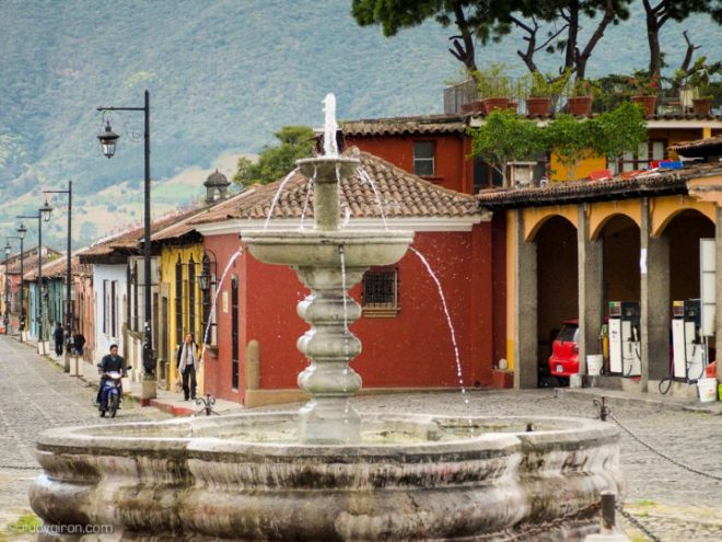Antigua Guatemala's Streets Without Cars BY RUDY GIRON