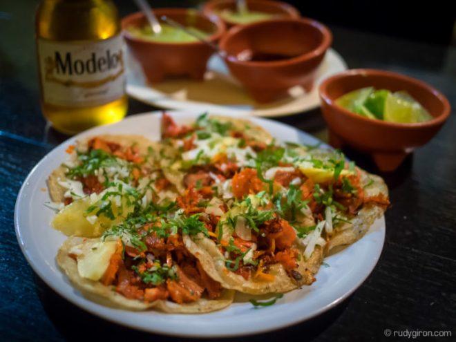 Foodie Alert — Tacos Al Pastor  from El Delirio BY RUDY GIRON