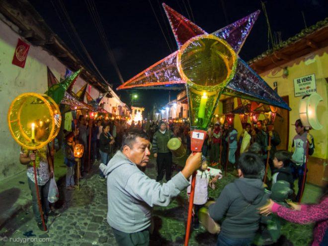 "Traditional ""Posada Navideña"" of the Brotherhood of Jesús Nazareno of La Merced Church BY RUDY GIRON"