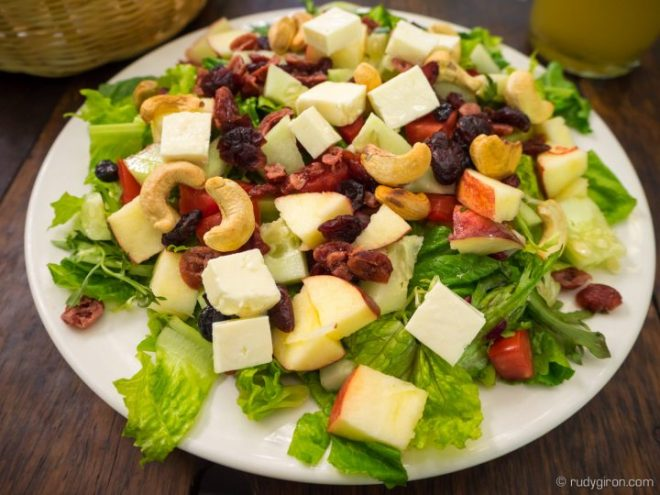 Salads from La Escalonia BY RUDY GIRON