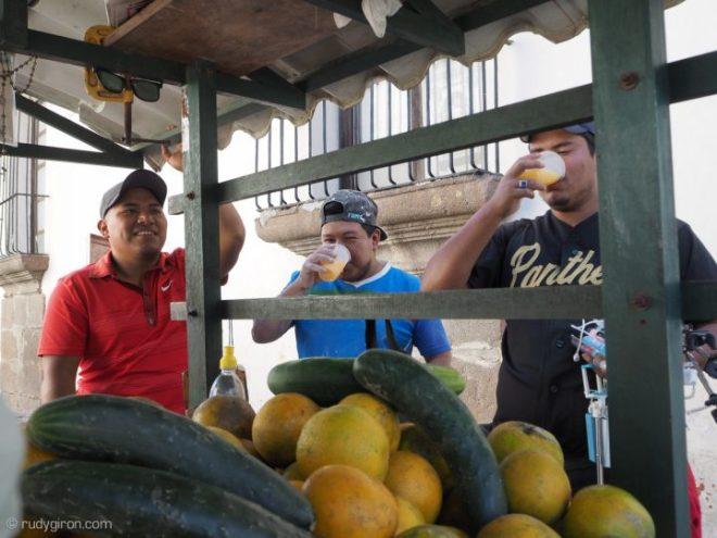 Freshly Pressed Orange Juice Everywhere in Guatemala BY RUDY GIRON