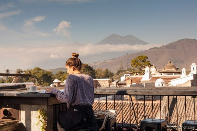Quotidian Vistas from Antigua Guatemala — Office with a View BY RUDY GIRON