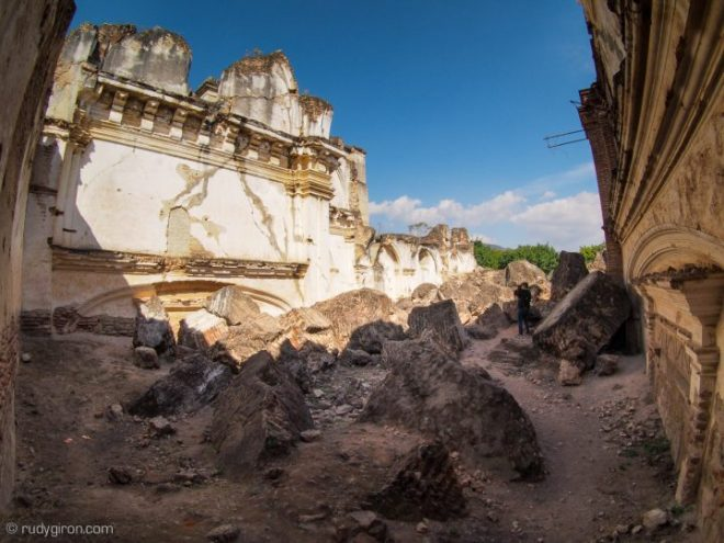 Remembrance of Earthquake of February 4th, 1976 at Ruinas de La Recolección in Antigua Guatemala BY RUDY GIRON