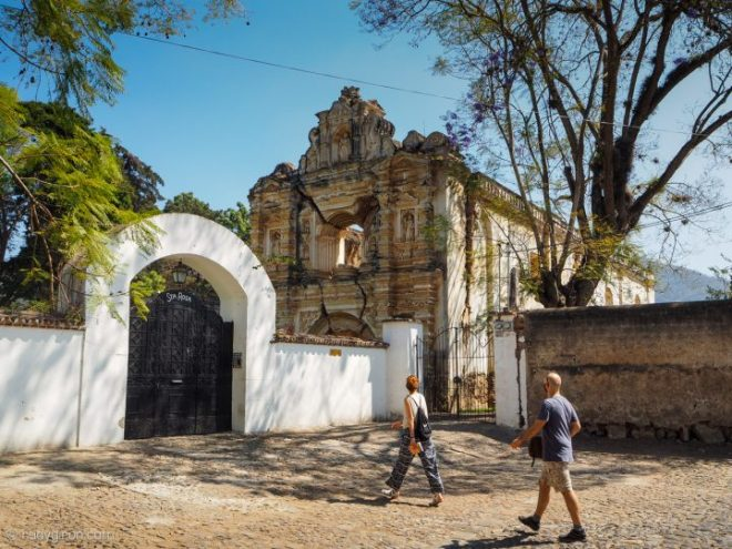 The hidden Santa Rosa Ruins of Antigua Guatemala BY RUDY GIRON