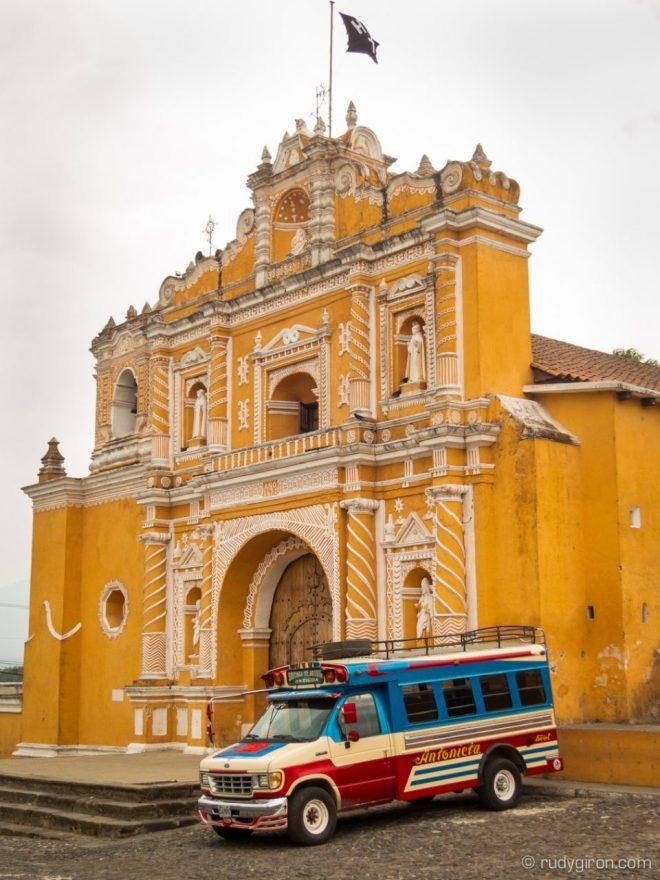 Façade of the Parrish of San Pedro Las Huertas BY RUDY GIRON
