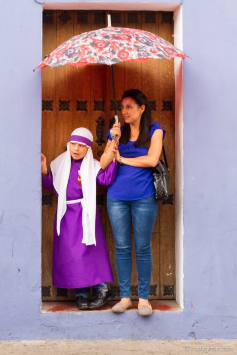 The Last Semana Santa Vistas — Waiting for the Procession BY RUDY GIRON