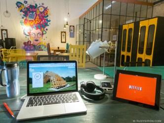 Salina's co-working space in Antigua Guatemala BY RUY GIRON