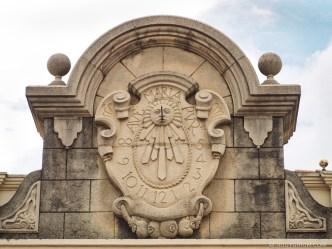 Sundial in Antigua Guatemala BY RUDY GIRON