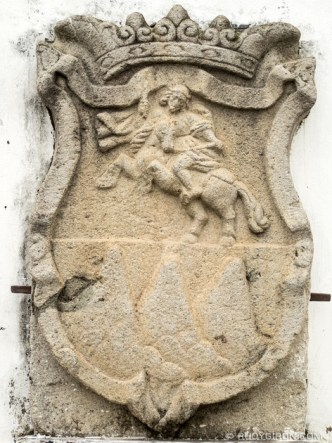 PHOTO STOCK: Coat of arms of Santiago de Guatemala