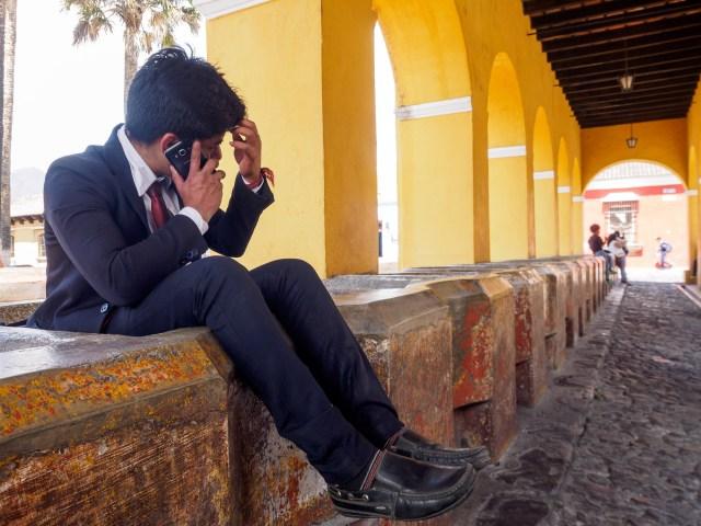 Quotidian vista from Antigua Guatemala: Pilas de Santa Clara BY RUDY GIRON