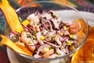 Photo Stock: Peruvian Ceviche