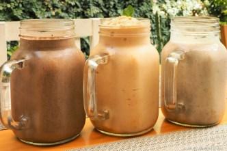 PHOTO STOCK: Breakfast smoothies