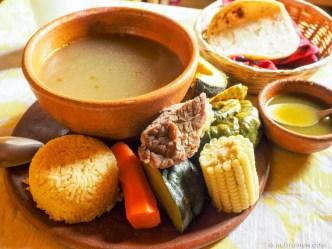 PHOTO STOCK: Guatemalan Food - Caldo de Res