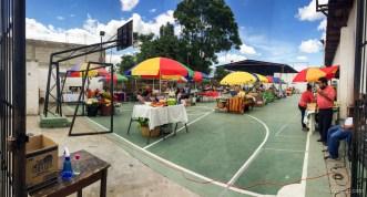 Panorama of Mercado Comunal SPLH