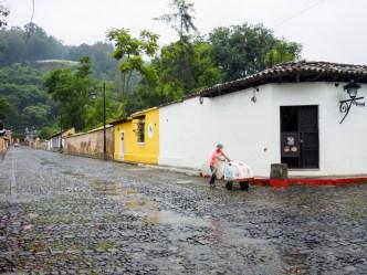 Rainy Season Vistas: Ambulant Ice Cream Vendor