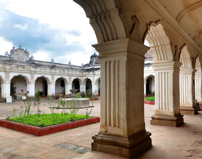 Raffle to win a Stunning Metallic Print of the Former Universidad de San Carlos de Guatemala