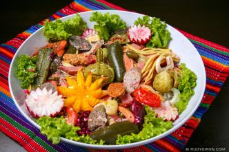 Try the Colorful Guatemalan Fiambre Delicacy