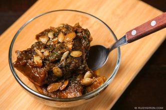Recipe for Ayote en Miel
