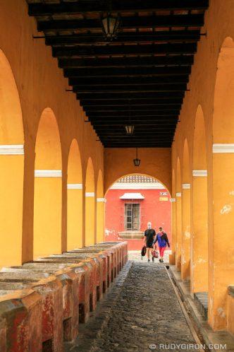 PHOTO STOCK: The washbasins at Pilas de Santa Clara in Antigua Guatemala
