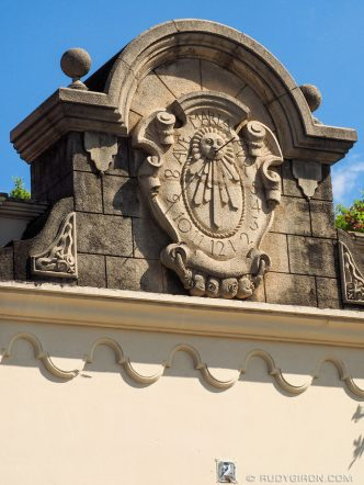 Sundial from Antigua Guatemala