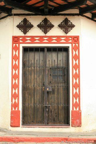 Antigua Fragments: Corner Doorway