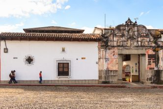 Entrance of Casa Convento Concepción