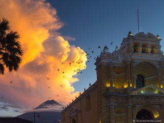 PHOTO STOCK: Cloudscapes in Antigua Guatemala