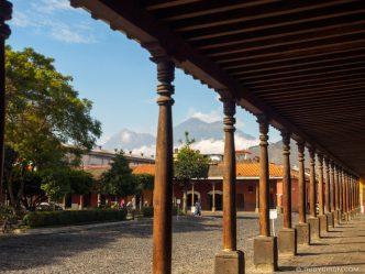 PHOTO STOCK: Portal del Ayuntamiento in Antigua Guatemala