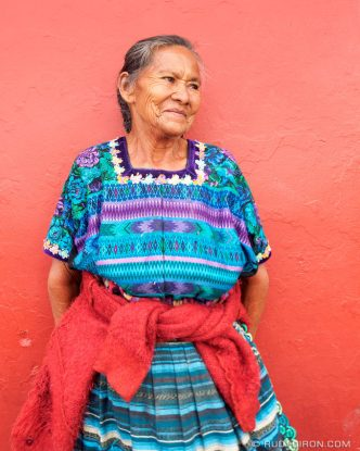PHOTO STOCK: Maya Portraits — Guatemalan Grandmother