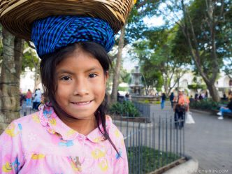 PHOTO STOCK: Maya Portraits — Guatemalan Girl
