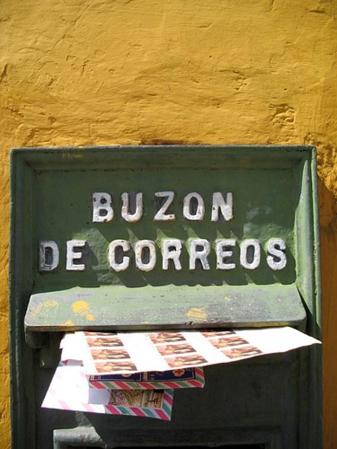 Photo Stock: Antique Buzón de Correo by Rudy Giron