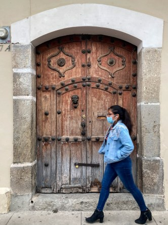 Antique Door of Antigua Guatemala
