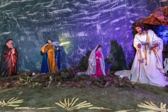Altar for Easter Sunday at Iglesia El Calvario